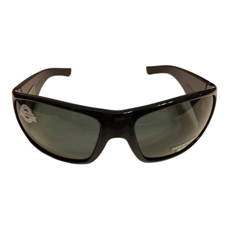 Hoven Vision Ritz Sunglasses - Gloss Black - ANSI POLARIZED Grey USPS Priority