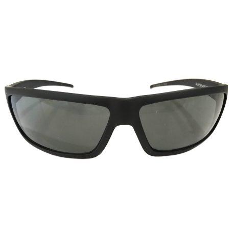 Hoven Vision Standard Sunglasses - Matte Black Frame - Grey Lens 90-0201
