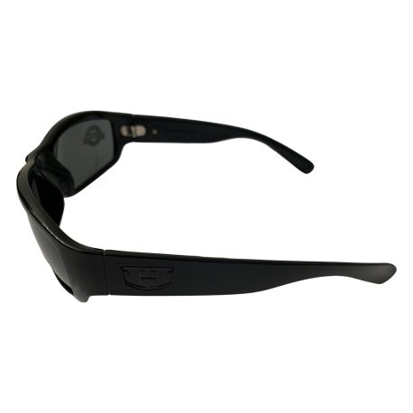 Hoven Highway Sunglasses - Hoven Vision - Gloss Black Grilamid® Frame - Polarized Gray Lenses
