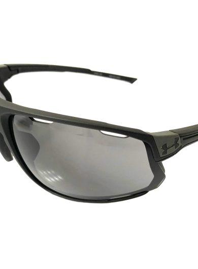 Under Armour Strive Sunglasses UA - Satin Black Frame - Gray Lens