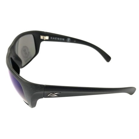 Kaenon Hodges Sunglasses - Matte Black POLARIZED Pacific Blue Lens