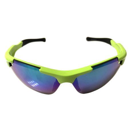 Optic Nerve Neurotoxin 3.0 Sunglasses - Shiny Green - Smoke Mirror + Xtra Lenses