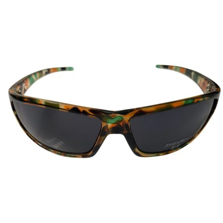 Hoven Vision Standard Sunglasses - Army Camo Frame - Grey Lens