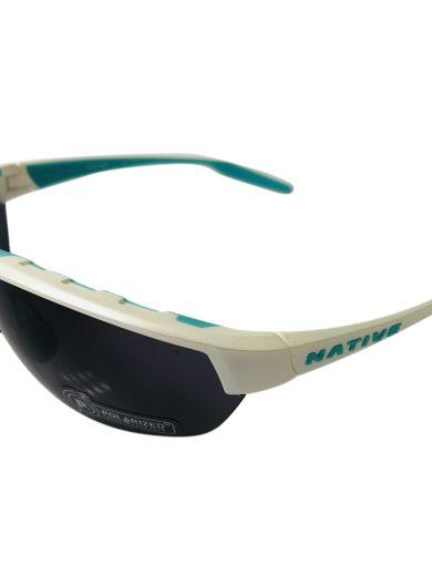 Native Eyewear Hardtop Ultra Sunglasses XTRA Lens - Pearl White POLARIZED N3 Gray