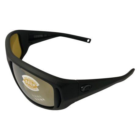 Costa Del Mar Montauk Sunglasses - Matte Black POLARIZED Sunrise Mirror 580P