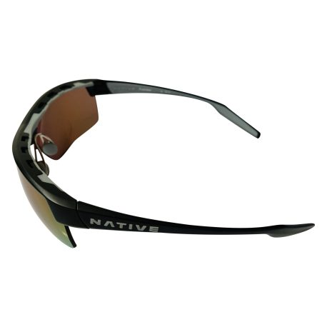 Native Eyewear Hardtop Ultra Sunglasses XTRA Lens Matte Black POLARIZED N3 Violet