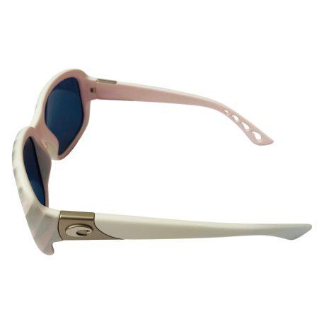 Costa Del Mar Gannet Sunglasses - Matte Seashell POLARIZED Gray 580P