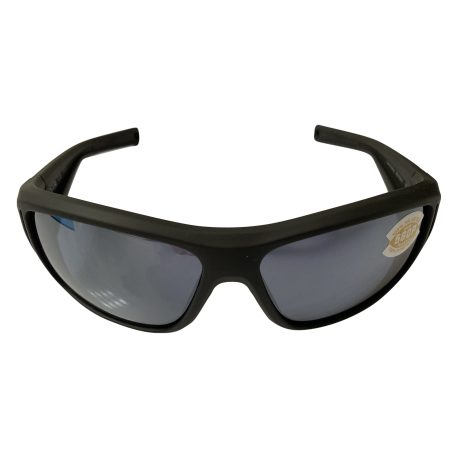 Costa Del Mar Montauk Sunglasses - Matte Black POLARIZED Ultra Silver Mirror Gray 580P