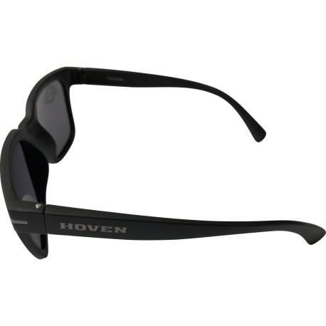 Hoven Vision The Merit Sunglasses - Matte Black POLARIZED Grey Lens