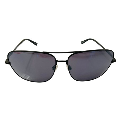 Spy Tatlow Sunglasses - Black Aviator - HD Plus Grey Green Black Spectra Mirror