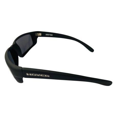 Hoven Drifter Sunglasses - Hoven Vision - Matte Black Frame - Grey Lens