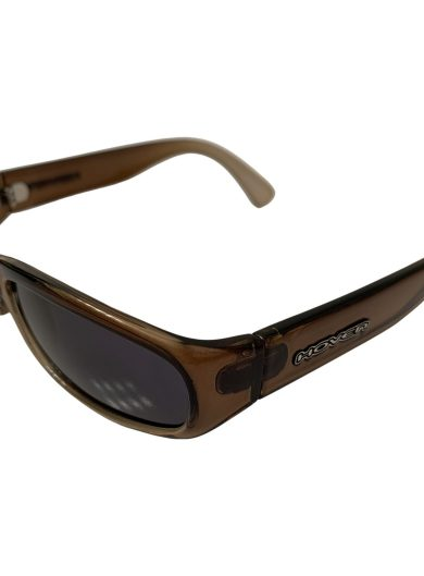 Hoven Navi Sunglasses - Brown Fade 90's Style Small Frame - Grey Lenses - Hoven Vision