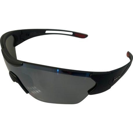 Suncloud Hotline Sunglasses - Matte Graphite Black - Polarized Silver Mirror Lens