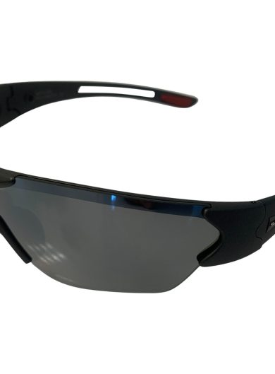 Suncloud Hotline Sunglasses - Matte Graphite Black - Polarized Silver Mirror Lens