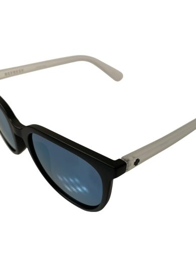 NEW Spy Fizz Sunglasses - Matte Black Crystal - Gray Light Blue Spectra