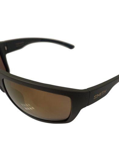 Smith Highwater Sunglasses - Matte Gray Gravy Sport Frame - ChromaPop+ Polarized Bronze Mirror