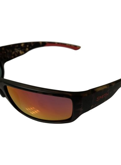 Smith Survey Sunglasses - Matte Camo Frame - Polarized Red Mirror Lens