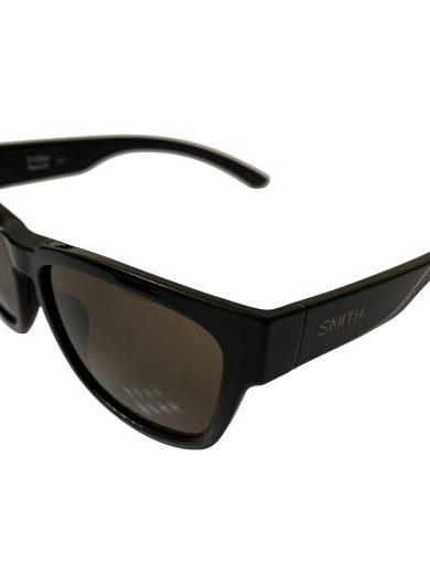 Smith Ember Sunglasses - Black Frame - ChromaPop Polarized Gray Green Lens
