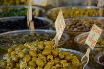 Olives from the market
