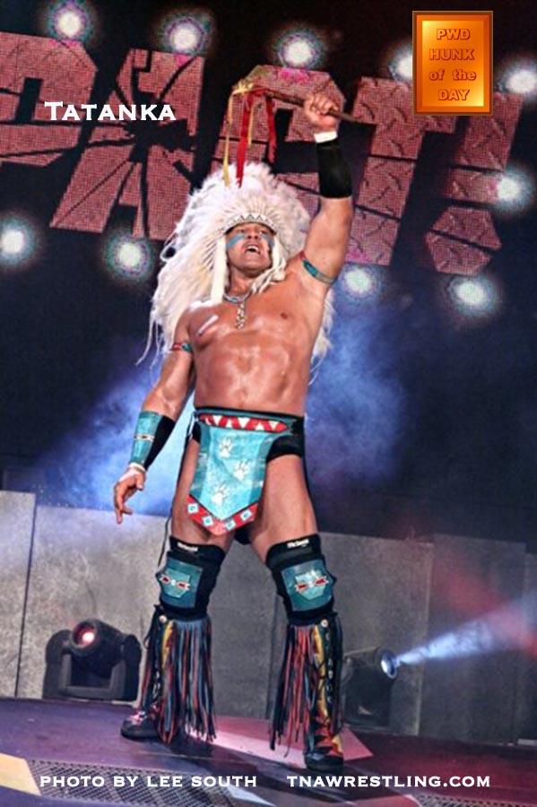 Tatanka WWE Seminole Patchwork Bandana Native Tatanka