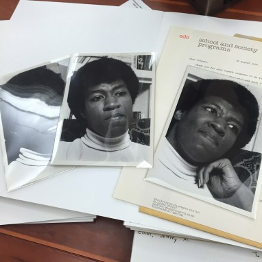 Octavia E. Butler: from Octavia E. Butler Papers, from The Huntington Library