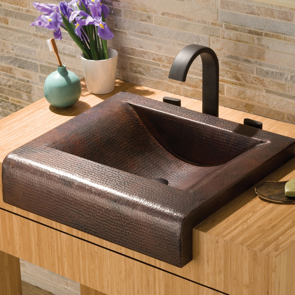 Palisades Copper Bathroom Sink