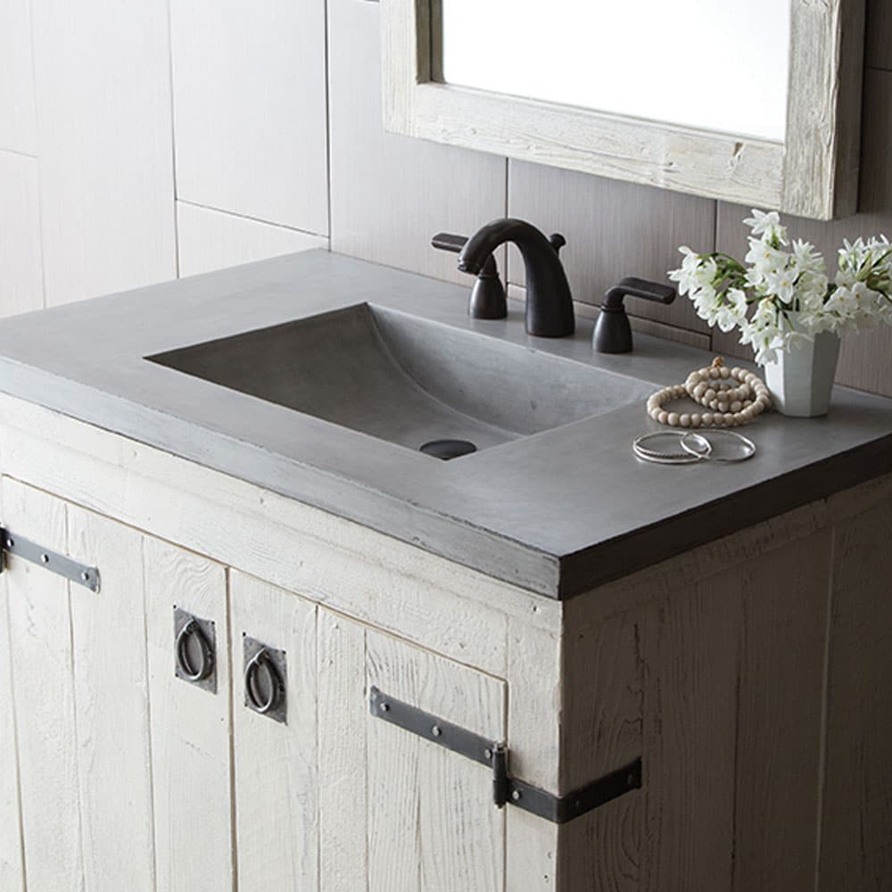 palomar vanity top with integral sink