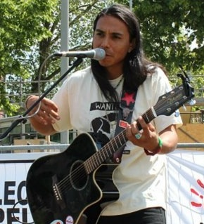 NVTV – Good Shield Aguilar (Lakota/Pasqua Yaqui) Activist/Entertainer