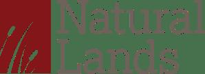 Logo for natural lands logo