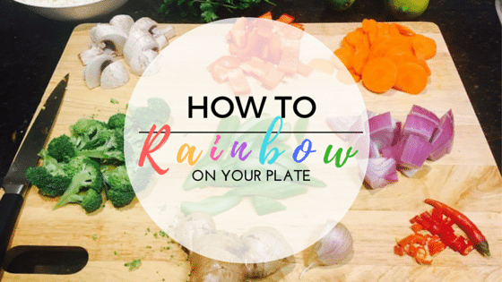 Rainbow On Your Plate – Eating the right portions of the Australian Food Pyramid