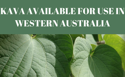 Kava available again for use in Western Australia..