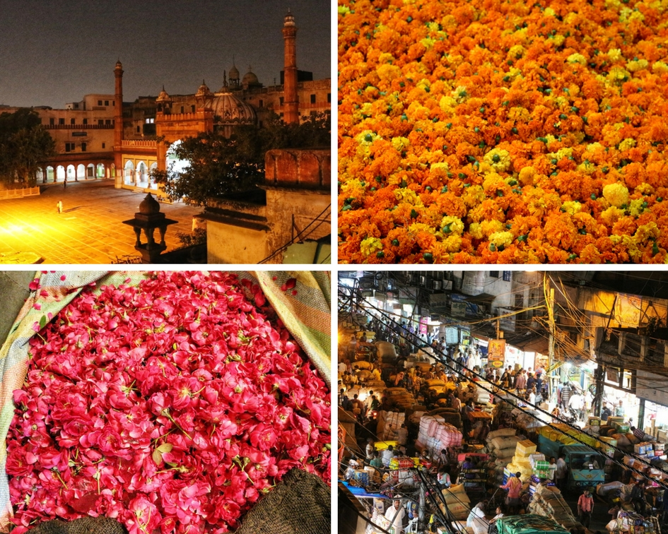 Flower Market Chandni Chowk