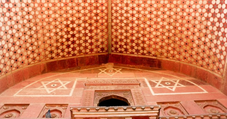 Agra, 2017: Butter Chicken, Naan and Mughal Architecture