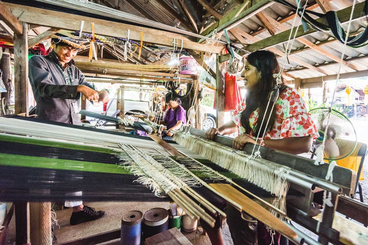 Cotton Weaving Chiang Mai