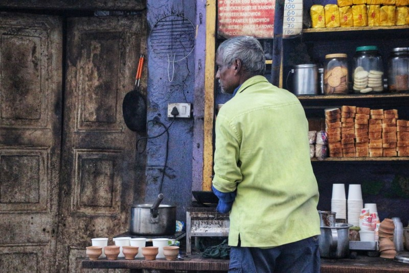 Street Food Kolkata Breakfast