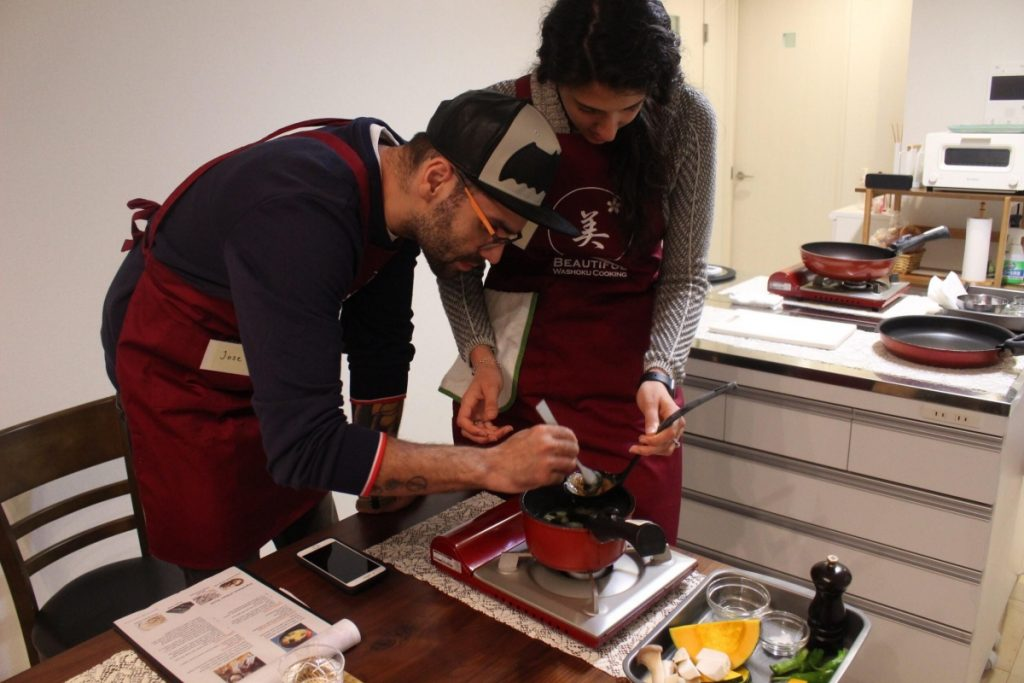 Tokyo Japanese Home Cooking Class