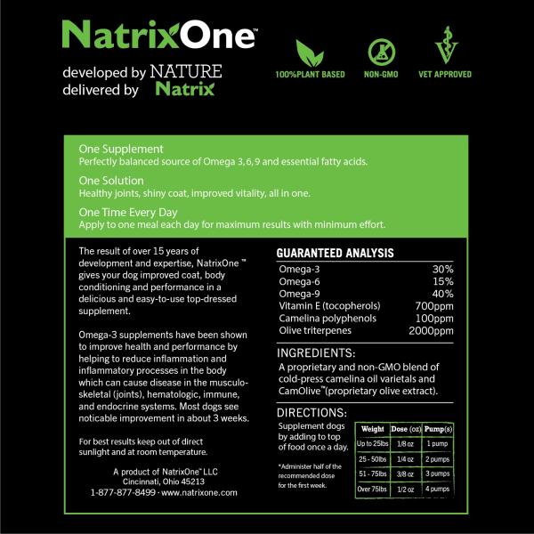 NatrixOne Label Back