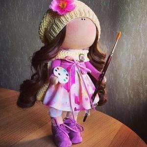 Materialien zum Nähen von Puppen