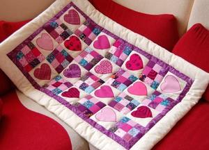 Cara menjahit selimut yang terbuat dari flap