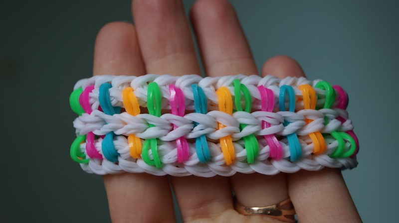 Bracelet from rubberry