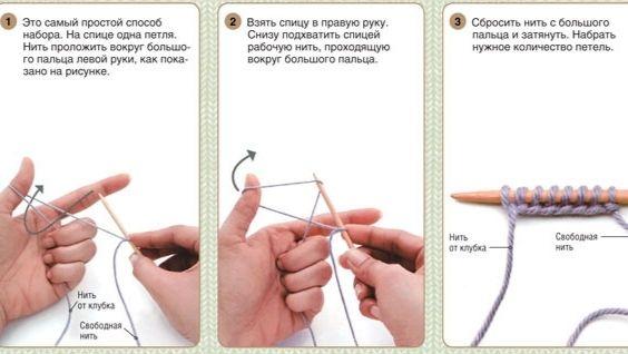 뜨개질 바늘에 이중 껌 - 니트, 지시, 계획 방법
