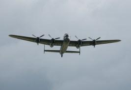 Lancaster over head