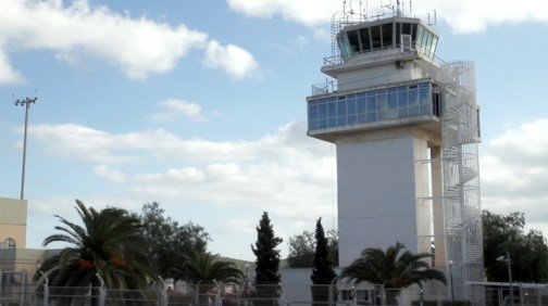 Ibiza airport tower