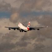 BA taking to skies over Heathrow