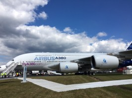 Airbus at Farnborough Airshow