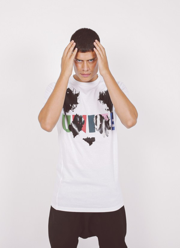 High Quality T-Shirt Kyoto White High Quality T-Shirt Cotton Splash