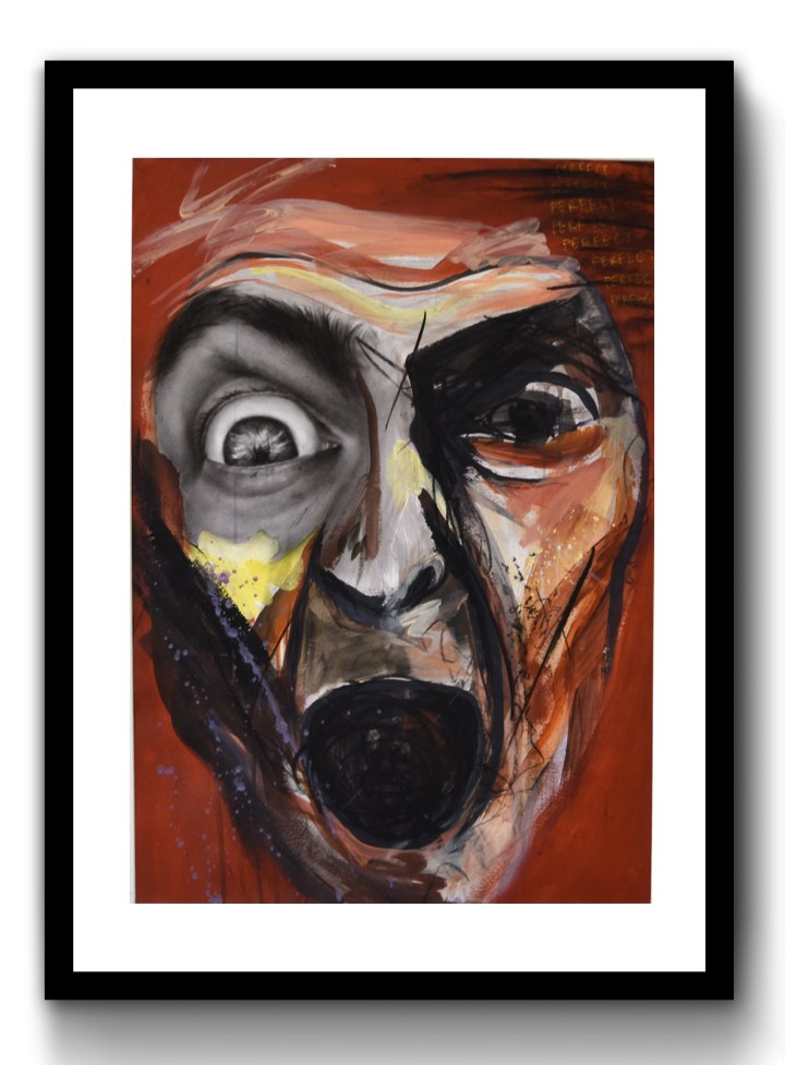 Another Screaming Man, 2019, 420mm x 594mm