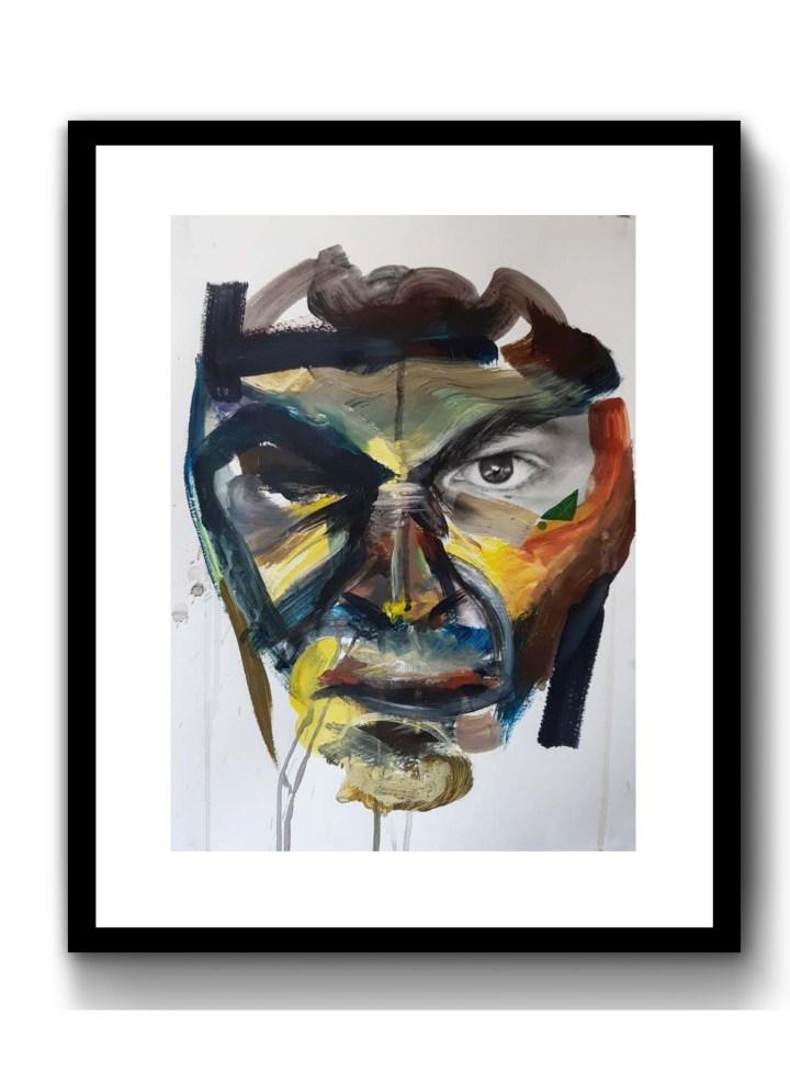 Stern Man, 2019, 297 x 420mm