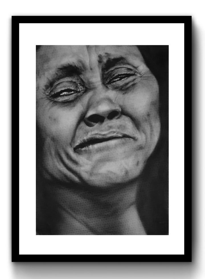 Sad Woman, 2018, 420mm x 594mm