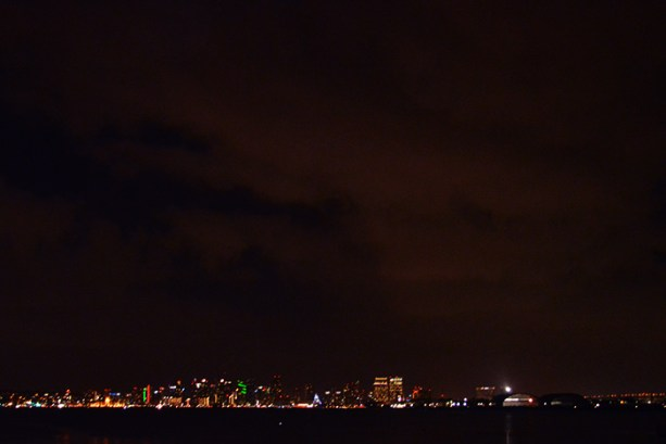 Night Time San Diego Skyline // Nattie on the Road